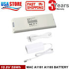 """Battery for Apple MacBook 13"""" 2006 2007 2008 2009 A1185 A1181 MA561 MA699 Charge"""