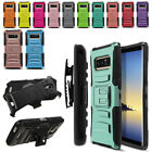 """For Samsung Galaxy Note 8 Note8 N950 6.3"""" Color Hybrid Stand Holster Case Cover"""