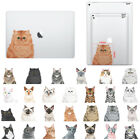 Cat Design Removable Vinyl Decal Stickers for Apple MacBook iPad Pro Notebook