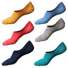 3 Pairs Men Invisible Nonslip Ankle Loafer No Show Low Cut Cotton Boat Socks US