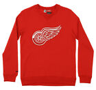 Reebok NHL Youth's Detroit Red Wings Prime Pullover Fleece Crew-TMC Sweater, Red $14.99 USD on eBay
