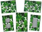 GREEN IVY LEAVES HOME WALL DECOR LIGHT SWITCH PLATES AND OUTLETS