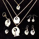 Majel Barret Roddenberry Star Trek IDIC Collection-Necklace/Earrings-Your Choice
