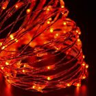 20 30 40 50 100 LED String Copper Wire Fairy Lights Battery Powered Waterproof