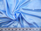 Payless Fabric Charmeuse Silky Bridal Satin Apparel Baby Blue