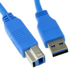 USB 3.0 SuperSpeed Cable Type Plug A to Type B Plug