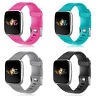 Soft Silicone Replacement Sport Band Strap For Fitbit Versa Smart Watch US