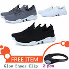 Men Casual Sports Shoes Gym Athletic Running Sneakers Skateboard Shoes+Clip
