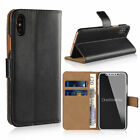 Luxury Ultra Slim Leather Flip Wallt Case Cover for Apple iPhone 10 X 8 7 6 Se 5