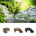 Reptile Floating Basking Platform Turtle Corner Cave Ramp Reptile Play Ground