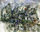 At The Water's Edge by Paul Cezanne. Highest Quality Made in U.S.A. Art Prints