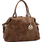 MKF Collection by Mia K. Farrow Angelina Duffle Bag Shoulder Bag NEW