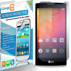 Clear Screen Protector LCD HD Phone Cover for LG Spirit