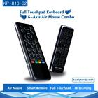 iPazzPort 2.4Ghz Wireless Keyboard Air Mouse IR Remote Touchpad for Android TV