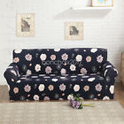 12Pattern Floral L-Shaped Stretch Sofa Covers Couch Slipcover Decor Qualited BS