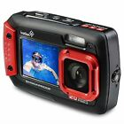 Ivation 20MP Underwater Waterproof Digital Camera w/Full-Color Selfie Display - MrWhy.com