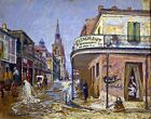 Restaurant de la Renaissance. Wall Art Repro. Made in U.S.A Giclee Prints
