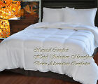 New Natural Comfort White Down Alternative Comforter Embossed  Medium Fill