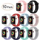 Soft Silicone Sport Band Strap Replacement Bracelet for Apple Watch iWatch 42 38