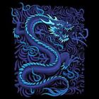 Blue Dragon Size Youth Small to 6 X Large T Shirt Pick Your Size image