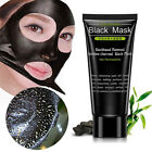 Blackhead Removal Bamboo Charcoal Peel Off Black Face Mask Nose Deep Cleaning