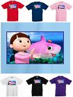 Cool Kids Baby Shark Dance T-Shirt Doo Doo Doo Song - Children's 1 to 15 yrs