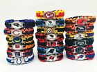 NFL Football Paracord Bracelet Wrap Wristband (US Seller + Free Shipping) $6.99 USD on eBay