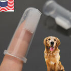 5PCS Finger Toothbrush Pet Dog Dental Cleaning Teeth Care Hygiene Brush US