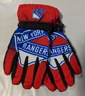 New York Rangers Gloves Big Logo Gradient Insulated Winter NHL Unisex S/M L/XL $17.95 USD on eBay