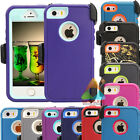 For Apple iPhone 5 5S SE 5C Case (Clip fits...