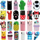 Anti Scratch Disney All Characters 3D Rugged Case Cover For iPhone X Xs Max XR