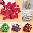 40x Mini Christmas Foam Frosted Fruit-artificial Holly Berry Home Decor Smart Y