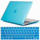 """Hard Rubberized Case + Keyboard Cover For Macbook Pro Retina 13"""" 15"""" 2016-2017"""