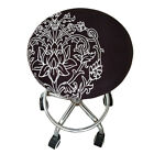 1Pc Bar Stool Covers Round Chair Seat Cover Cushions Sleeve Multi-color optional