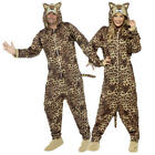 Adult Animal Fancy Dress Mens Ladies Halloween Book Character Jumpsuits Costume