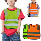 Kids Reflective Vest Waistcoat Cycling Safety Fluorescent Clothing Road Traffic