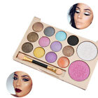 14 Colors Eye Shadow Palette With Stick Glitter Shimmer Powder Eye Beauty Makeup