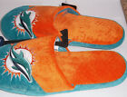 New Miami Dolphins football Slippers NFL Team Adult Size S-XL NFL Forever Xmas $18.9 USD on eBay