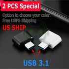2-Pack USB C Adapter Hi-speed OTG USB Type C to USB-A 3.0 Convertor