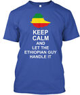 Keep Calm Ethiopian Guy - And Let The Handle It Standard Unisex T-shirt