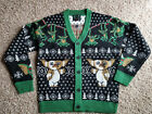 Gremlins Mondo Holiday Christmas Ugly Sweater Mens Women Cardigan NEW All Sizes