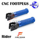 POLE Front CNC Footpegs Footrests For Triumph Speed Triple 955i 99-04 99 00 01 $27.88 USD on eBay