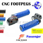 FRW CNC 6C 25mm Rear Footpegs For Triumph Thunderbird Sport 98-03 99 00 01 02 03 $47.88 USD on eBay