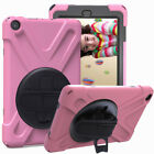 Rotating Rugged Stand Hard Tablet Case For Amazon Kindle Fire HD 8 8th Gen 2018