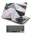 "2in1 Marble Frosted Matte Hard Case Cover for MacBook AIR PRO 11"" 12"" 13"" 15"""