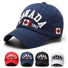 Men Unisex Canada Flag Baseball Cap Adjustable Snapback Visor Golf Hip-
