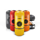 Wacaco Nanopresso Light Espresso Machine Coffee Maker Yellow Orange Red Black