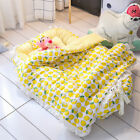 Washable Portable Baby bed Toddler Cotton Cradle Bassinet Sleeper Soft H8Q4