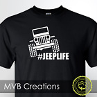 Jeep Life Crawling Graphic T-Shirt Funny Off Road Wrangler Tee Novelty JK image