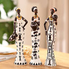 African Girls Home Decoration Accessories High Quality Ornament Synthetic Resin
